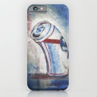 iPhone & iPod Case featuring Beer Can by Mike Oncley