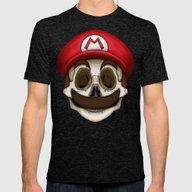 Stack's Skull Sunday No.… Mens Fitted Tee Tri-Black SMALL