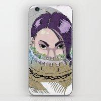 Tough Scarf iPhone & iPod Skin