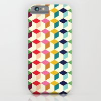 iPhone & iPod Case featuring Cube by Michelle Nilson