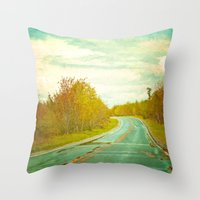 Setting Forth Throw Pillow