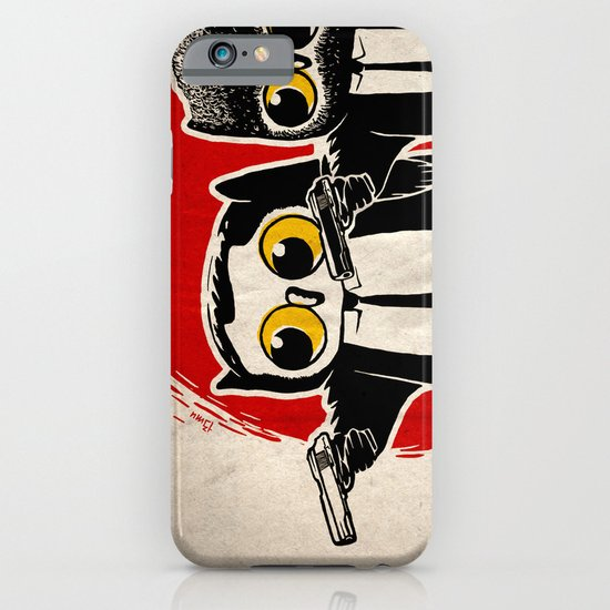 Owls Pulp Fiction iPhone & iPod Case