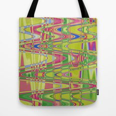 Playing with waves 4 Tote Bag