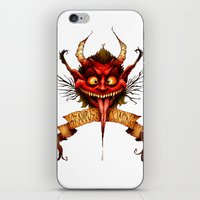 Krampus is Coming iPhone & iPod Skin