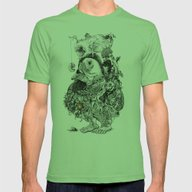Organism Mens Fitted Tee Grass SMALL