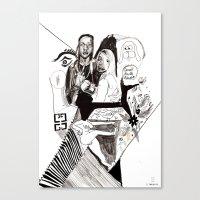 Des24 Canvas Print