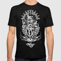 West Kali Mens Fitted Tee Tri-Black SMALL