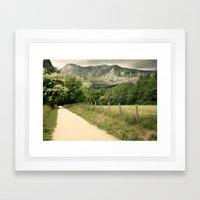 Anboto Framed Art Print