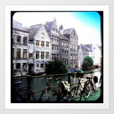 Gent, Belgium Postcard/Print Art Print