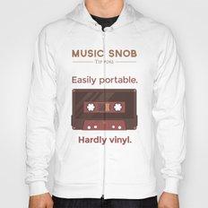 Cassettes. — Music Sno… Hoody