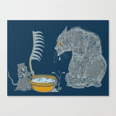The Rat Reaper Canvas Print