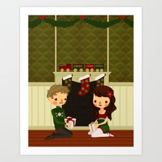 Christmas in June Art Print