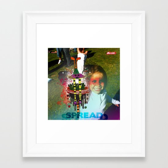 Spread Framed Art Print