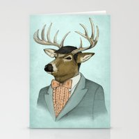 Going Stag Stationery Cards