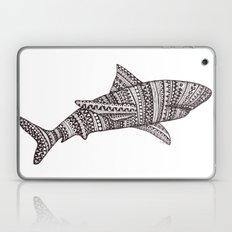 Patterned Shark Laptop & iPad Skin
