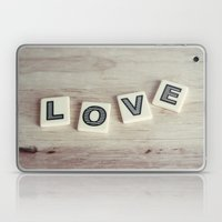 Letter Love Laptop & iPad Skin