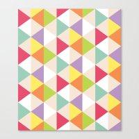 Love Triangle Canvas Print
