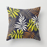 Tropical fell II Throw Pillow