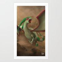 Sandstorm! Art Print