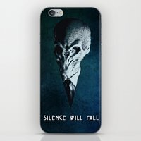 Doctor Who: The Silence iPhone & iPod Skin