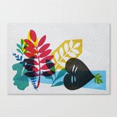 Plant studies 01. Canvas Print