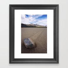 Death Valley Framed Art Print