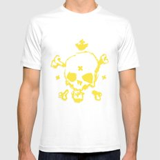 XXX Skull SMALL Mens Fitted Tee White