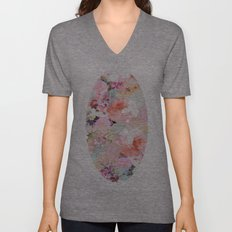 Love of a Flower Unisex V-Neck