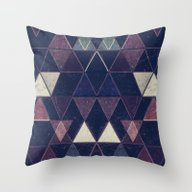 Triangles XXVI Throw Pillow