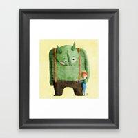 Dear Troll Framed Art Print