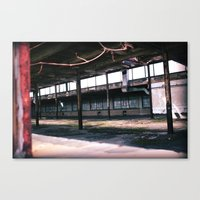 Echos Of Industry Canvas Print