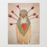 Bleeding Heart (Oh such a nice boy) Canvas Print