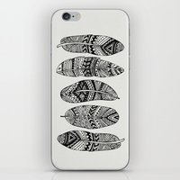 Feathers Of My Life iPhone & iPod Skin