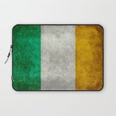 National flag of the Republic of Ireland - Vintage Version Laptop Sleeve