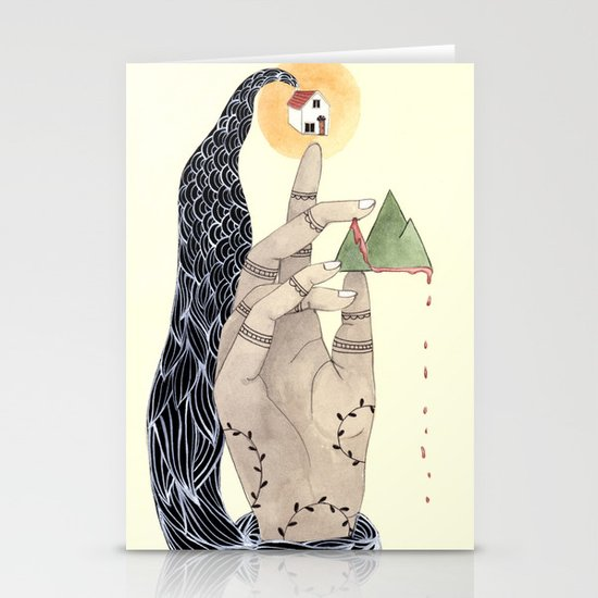 Hand to Home Stationery Card