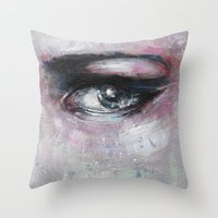 Quiet-Colored End of Evening Throw Pillow