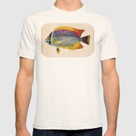Blue Fish Mens Fitted Tee Natural SMALL