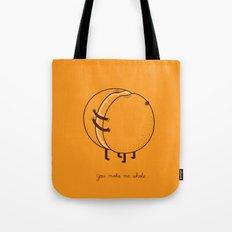 My better half Tote Bag