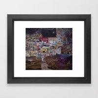 Structures Framed Art Print