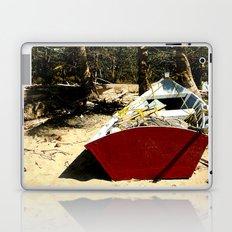 Red boat Laptop & iPad Skin