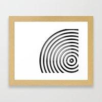Mercurial Rings Framed Art Print