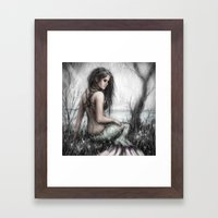 Mermaid's Rest Framed Art Print