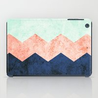 triple chevron (2) iPad Case