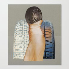 A Formal Tire Canvas Print