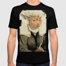 van Weyden und das Laster Mens Fitted Tee Black SMALL