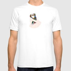 Beauty Endures Mens Fitted Tee White SMALL