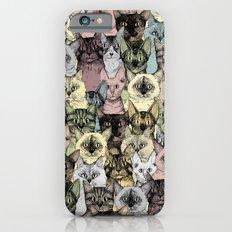 just cats retro Slim Case iPhone 6s