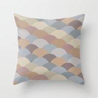Circles Abstract 1 Throw Pillow