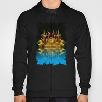 Lion And Flowers Hoody