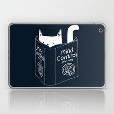 Mind Control For Cats (dark blue) Laptop & iPad Skin